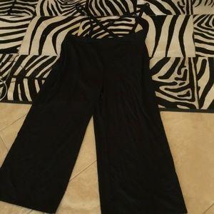 Modcloth suspender pants size 3x New
